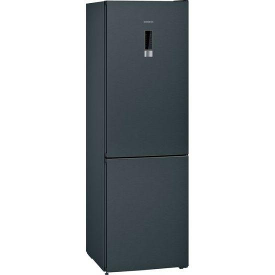 Siemens IQ-300 KG36NXXDC 60/40 Frost Free Fridge Freezer - Black Steel - A+++ Rated