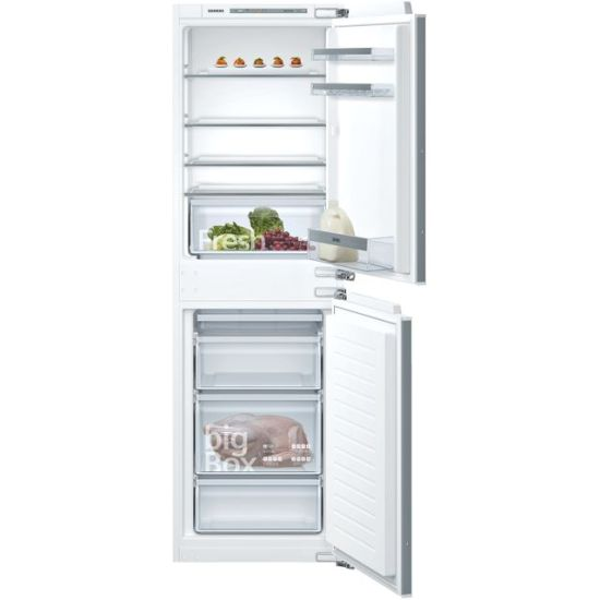 Siemens IQ-300 KI85VVFF0G Integrated 50/50 Fridge Freezer with Fixed Door Fixing Kit - White - A++ Rated