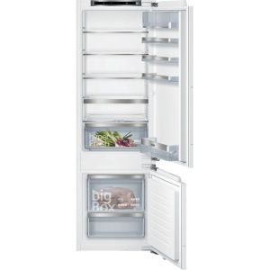Siemens IQ-500 KI87SAFE0G Integrated 70/30 Fridge Freezer with Fixed Door Fixing Kit - White - A++ Rated