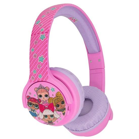 OTL L.O.L. Surprise! Glitterati Club Pink Kids Wireless Headphones