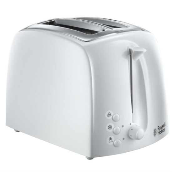 Russell Hobbs 21640 Textures 2-Slice Toaster - White