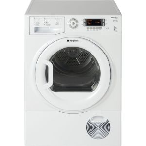 HOTPOINT Ultima S-Line SUTCD97B6PM Condenser Tumble Dryer - White, White