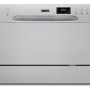ZANUSSI ZDM17301SA Compact Dishwasher - Silver, Silver