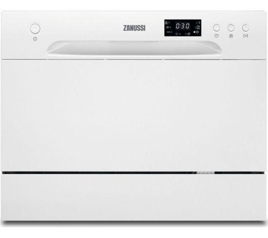 ZANUSSI ZDM17301WA Compact Dishwasher - White, White