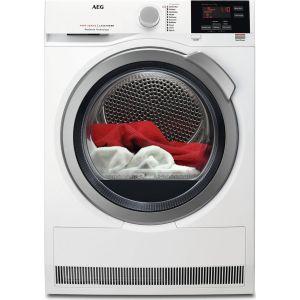 AEG ProSense T6DBG822N Condenser Tumble Dryer - White, White