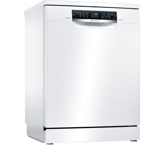 BOSCH Serie 6 SMS67MW00G Full-size Dishwasher - White, White