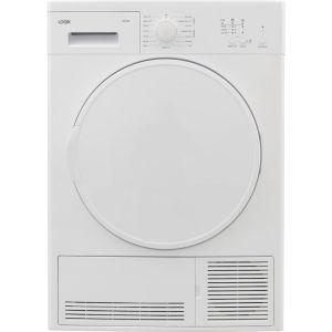 LOGIK LCD7W18 7 kg Condenser Tumble Dryer - White, White