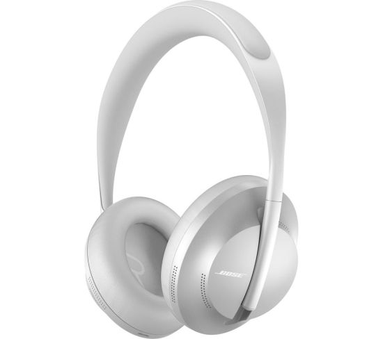 BOSE Wireless Bluetooth Noise-Cancelling Headphones 700 - Silver, Silver