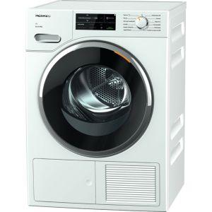 MIELE TWJ660 WP WiFi-enabled 9 kg Heat Pump Tumble Dryer - White, White