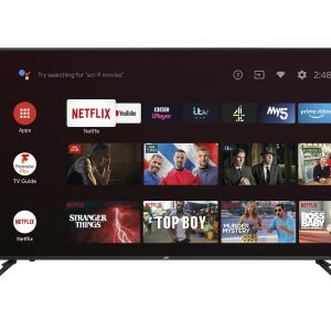 """65"""" JVC LT-65CA890 Android TV  Smart 4K Ultra HD HDR LED TV with Google Assistant"""