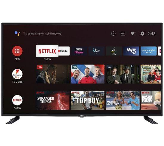 LOGIK L43AFE20 Android TV  Smart Full HD LED TV with Google Assistant