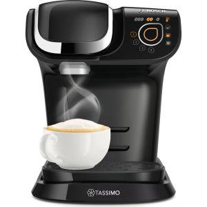 TASSIMO by Bosch My Way 2 TAS6502GB Coffee Machine with Brita Filter - Black, Black