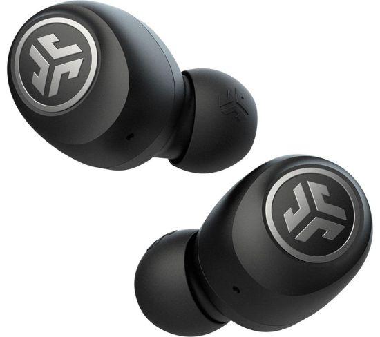 JLAB AUDIO GO Air Wireless Bluetooth Earbuds - Black, Black