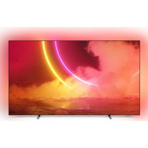 """65"""" PHILIPS 65OLED805  Smart 4K Ultra HD HDR OLED TV with Google Assistant, Black"""