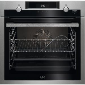 AEG SteamBake BCS556020M Electric Steam Oven - Stainless Steel, Stainless Steel
