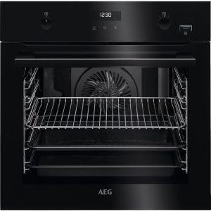 AEG SteamBake BPE556220B Electric Oven - Black, Black