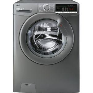 HOOVER H-Wash 300 H3W49TGGE NFC 9 kg 1400 Spin Washing Machine - Graphite, Graphite