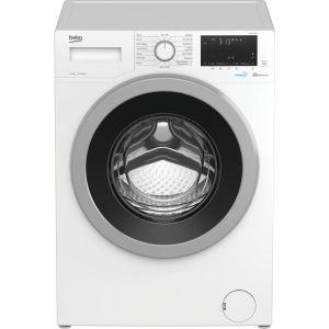 BEKO WEX940530W Bluetooth 9 kg 1400 Spin Washing Machine – White, White