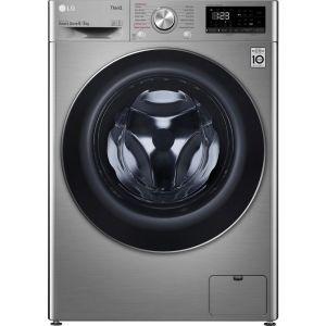 LG AI DD V6 FWV685SSE WiFi-enabled 8 kg Washer Dryer - Graphite, Graphite