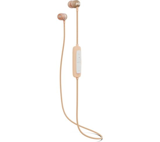 HOUSE OF MARLEY Smile Jamaica Wireless 2 Bluetooth Earphones - Copper