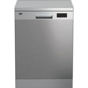 BEKO DFN16X21X Full-size Dishwasher - Stainless Steel, Stainless Steel