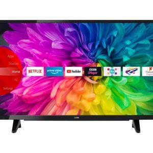"""39"""" LOGIK L39SHE21  Smart HD Ready HDR LED TV, Gold"""