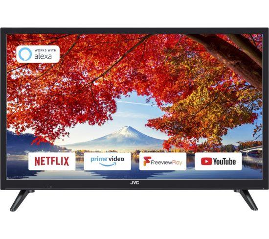 """24"""" JVC LT-24C600  Smart HD Ready LED TV"""