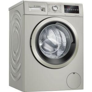 BOSCH Serie 6 WAU28TS1GB 9 kg 1400 Spin Washing Machine - Silver Inox, Silver