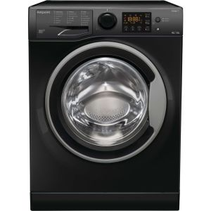 HOTPOINT RDGR 9662 KS UK N 9 kg Washer Dryer – Black, Black