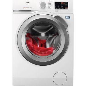 AEG ProSense L6FBJ842P 8 kg 1400 Spin Washing Machine - White, White