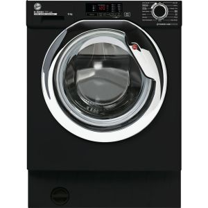 HOOVER H-Wash 300 HBWS49D1ACBE Integrated 9 kg 1400 Spin Washing Machine – Black, Black