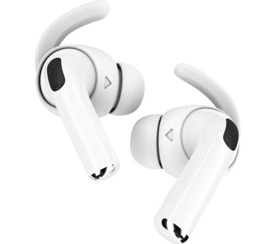 KEYBUDZ EarBuddyz AirPods Pro Earhooks - White, White