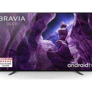 "55"" SONY BRAVIA KE55A8BU  Smart 4K Ultra HD HDR OLED TV with Google Assistant"