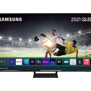 "65"" SAMSUNG QE65Q70AATXXU  Smart 4K Ultra HD HDR QLED TV with Bixby, Alexa & Google Assistant, Black"