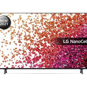 "65"" LG 65NANO756PA  Smart 4K Ultra HD HDR LED TV with Google Assistant & Amazon Alexa - Ashed Blue, Blue"