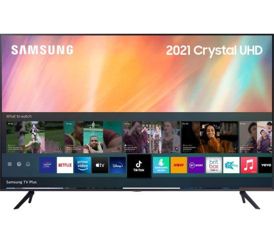 "75"" SAMSUNG UE75AU7100KXXU  Smart 4K Ultra HD HDR LED TV with Bixby, Alexa & Google Assistant"