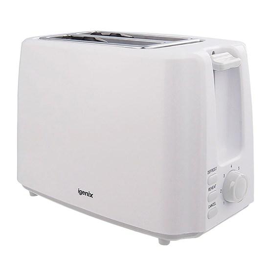 Igenix 2-Slice Toaster - White