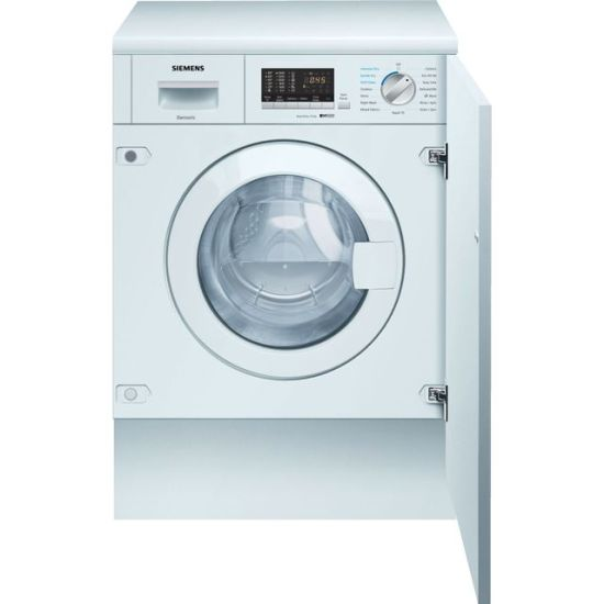 Siemens IQ-500 WK14D542GB Integrated 7Kg / 4Kg Washer Dryer with 1400 rpm - White - B Rated