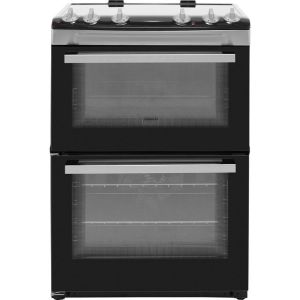 Zanussi ZCV66050XA 60cm Electric Cooker with Ceramic Hob - Stainless Steel - A/A Rated