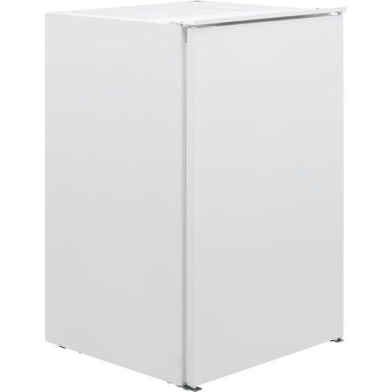 Zanussi ZUAN88ES Integrated Under Counter Freezer with Sliding Door Fixing Kit - A++ Rated