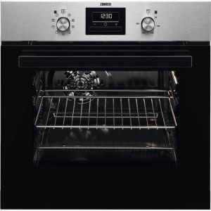 Zanussi ZZB35901XA Built In Electric Single Oven - Stainless Steel - A Rated