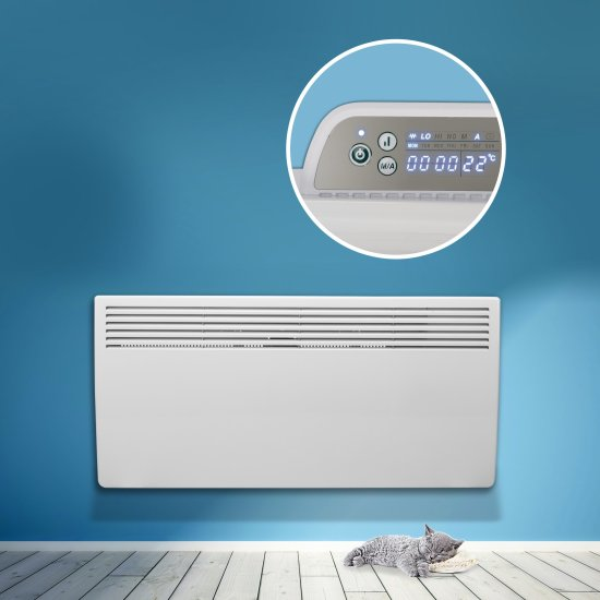 """Devola Eco 2kw Panel Heater With 24hr/7 Day Timer - DVM2000W (Return Unit) - (Used) Grade A Devola Heating Devola Eco 2kw Panel Heater With 24hr/7 Day Timer - DVM2000W (Return Unit) - (Used) Grade A Shop The Very Best Air Con Deals Online at <a href=""""http://Appliance-Deals.com"""">Appliance-Deals.com</a>"""