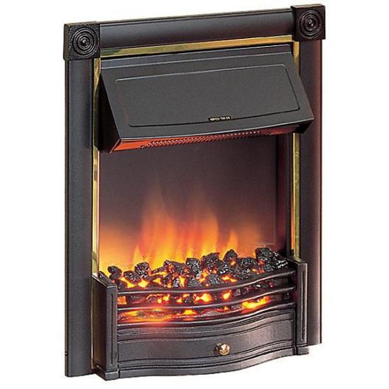 "Dimplex Horton Inset Fire (Black with Brass Effect Finish) - HTN20BL Dimplex Electric Fires Dimplex Horton Inset Fire (Black with Brass Effect Finish) - HTN20BL Shop The Very Best Air Con Deals Online at <a href=""http://Appliance-Deals.com"">Appliance-Deals.com</a>"