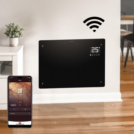 "Devola Designer 1.5kW LOT 20 Compliant Glass Panel Heater WiFi Compatible Black - DVPW1500B (Return Unit) - (Used) Grade A Devola Heating Devola Designer 1.5kW LOT 20 Compliant Glass Panel Heater WiFi Compatible Black - DVPW1500B (Return Unit) - (Used) Grade A Shop The Very Best Air Con Deals Online at <a href=""http://Appliance-Deals.com"">Appliance-Deals.com</a>"
