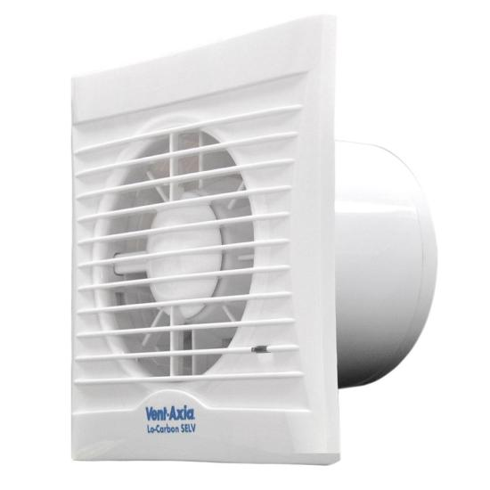 """Vent-Axia Silhouette 100H Axial Bathroom, Kitchen and Toilet Fan - 454057 Vent Axia Extractor Fans Vent-Axia Silhouette 100H Axial Bathroom, Kitchen and Toilet Fan - 454057 Shop The Very Best Air Con Deals Online at <a href=""""http://Appliance-Deals.com"""">Appliance-Deals.com</a>"""