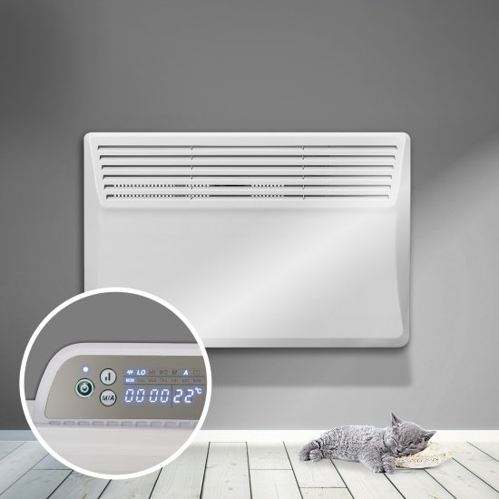 """Devola Eco Contour 1.5kw Panel Heater With 24hr/7 Day Timer - DVS1500W (Return Unit) - (Used) Grade A Devola Heating Devola Eco Contour 1.5kw Panel Heater With 24hr/7 Day Timer - DVS1500W (Return Unit) - (Used) Grade A Shop The Very Best Air Con Deals Online at <a href=""""http://Appliance-Deals.com"""">Appliance-Deals.com</a>"""