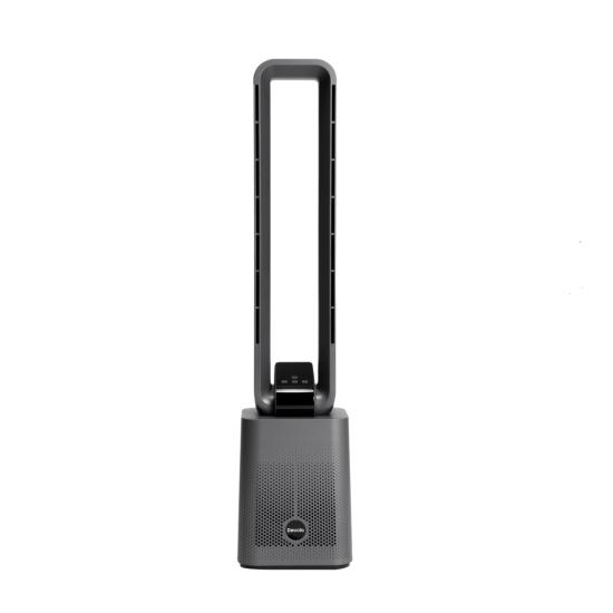 "Devola Bladeless Tower Fan With Carbon Air Filter, 12 Speeds & Remote In Grey - DVBAM07 Devola Fans Devola Bladeless Tower Fan With Carbon Air Filter, 12 Speeds & Remote In Grey - DVBAM07 Shop The Very Best Air Con Deals Online at <a href=""http://Appliance-Deals.com"">Appliance-Deals.com</a>"