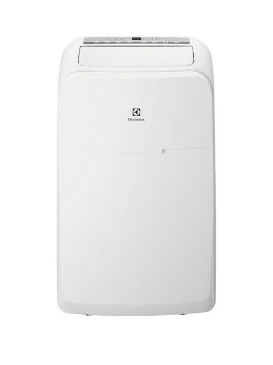 """Electrolux Compact Cool Portable Air Conditioner 12000BTU 3.3kW with Remote Control - EXP12HN1W6 Electrolux Portable Air Conditioners Electrolux Compact Cool Portable Air Conditioner 12000BTU 3.3kW with Remote Control - EXP12HN1W6 Shop The Very Best Air Con Deals Online at <a href=""""http://Appliance-Deals.com"""">Appliance-Deals.com</a>"""