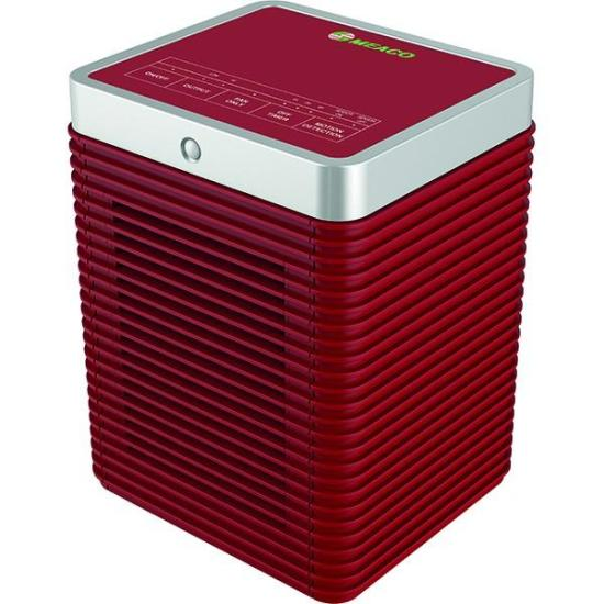 """MeacoHeat Motion Eye 1.8kW Heater Red - MEAH18R Meaco Heating MeacoHeat Motion Eye 1.8kW Heater Red - MEAH18R Shop The Very Best Air Con Deals Online at <a href=""""http://Appliance-Deals.com"""">Appliance-Deals.com</a>"""
