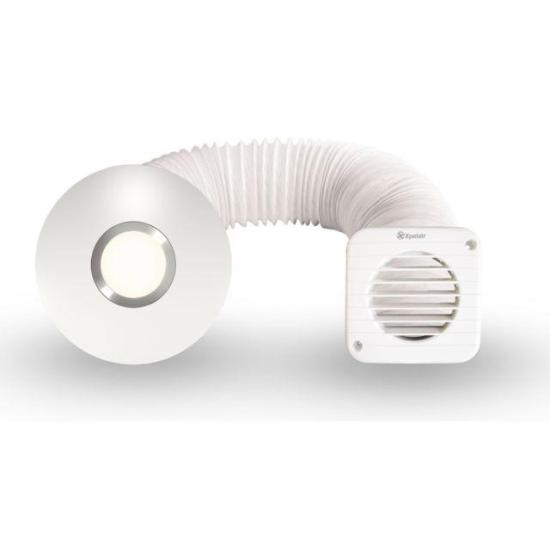 """Xpelair Simply Silent SSISFC 4""""/100mm Illumi Shower Fan Kit - 93087AW (Return Unit) - (Used) Grade A Xpelair Extractor Fans Xpelair Simply Silent SSISFC 4""""/100mm Illumi Shower Fan Kit - 93087AW (Return Unit) - (Used) Grade A Shop The Very Best Air Con Deals Online at <a href=""""http://Appliance-Deals.com"""">Appliance-Deals.com</a>"""